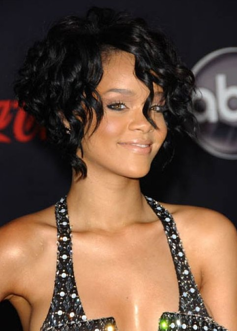 2013 African American Short Curly Wedding Hairstyles for Black Women