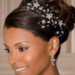 2013 Beautiful African American Wedding Updo Hairstyles