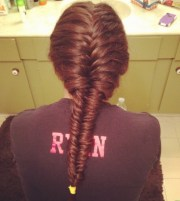 french fishtail braid hairstyles