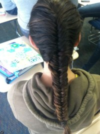 French Fishtail Braid Hairstyles - Hairstyles Weekly