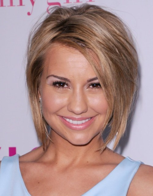 2013 Cute Short Straight Hairstyle