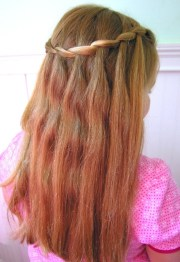 beautiful cascade waterfall braid