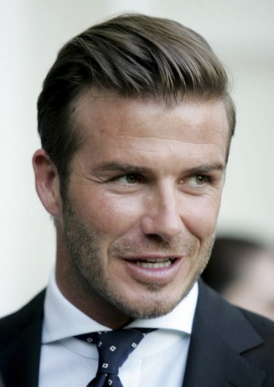 David Beckham Fashion Business Hairstyle for Men