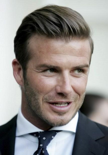 David Beckham Hair 2013