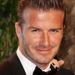 David Beckham Haircut 2013