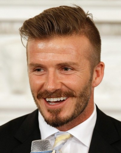 David Beckham Quiff Hairstyles 2012 - 2013