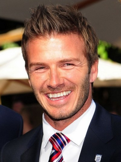 David Beckham Latest Short Hairstyles: 2013 - 2014 Hairstyls for Men