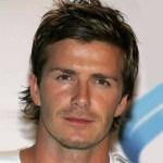 David Beckham Layered Hairstyle