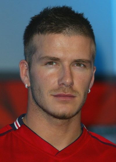 David Beckham Short Buzz Haircut for Men