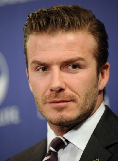 David Beckham Short Haircut - Business Haircut for Men