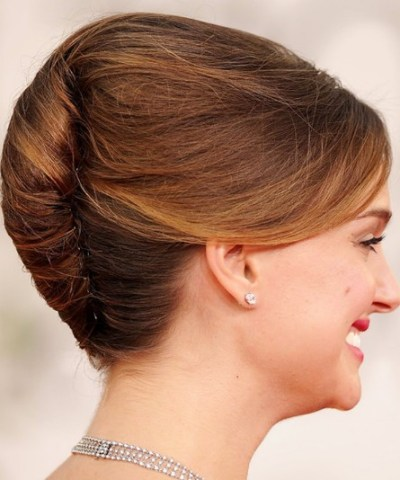 2013 -2014 Formal French Twist for homecoming