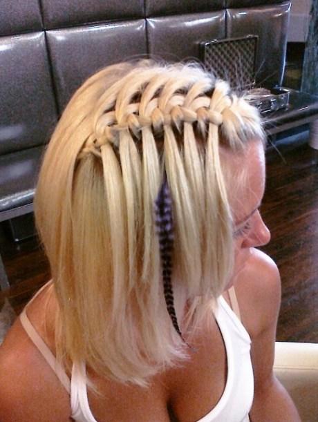 Sexy Waterfall Braid Hairstyles 2013