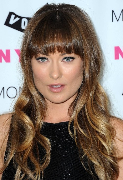 Sleek-ombre-hair-from-Olivia-Wilde