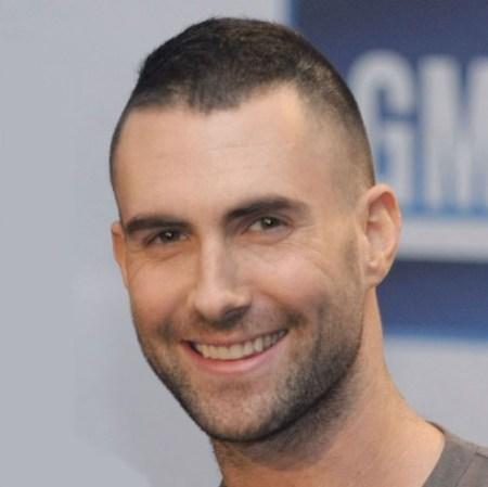 Adam Levine Short Crew Cut: Very Short Haircut for Men
