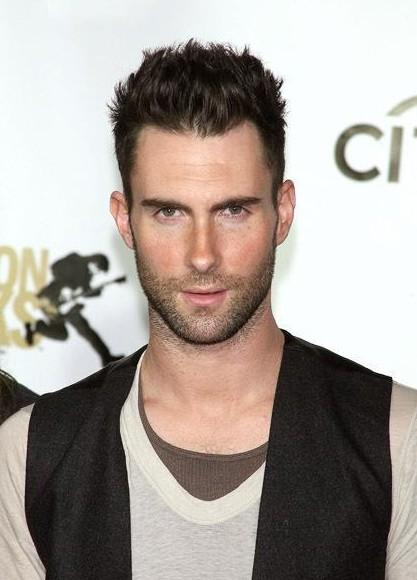 Adam Levine Short Haircut for Men