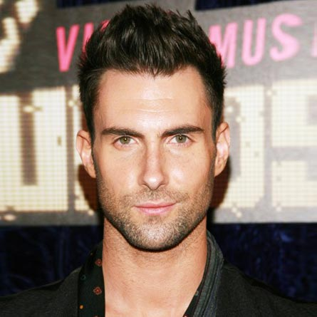 Adam Levine Cool Spiked Faux Hawk Haircut for Men