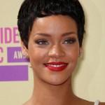 Rihanna Latest Short Black Boy Cut