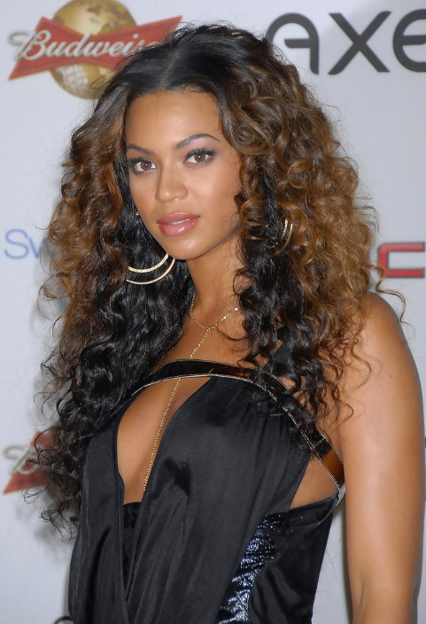 Layered Ombre Curly Hairstyle For Long Hair Hairstyles