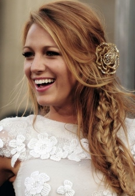Blake Lively Stylish Hairstyles 2013