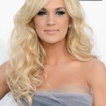 Carrie Underwood Curly Hairstyles: Long Blonde Curly Hair