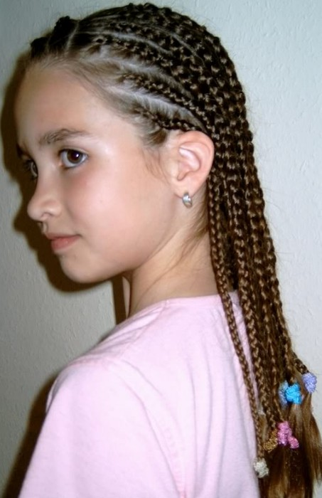 Cute Cornrows Hairstyles for Girls