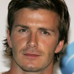 David Beckham Layered Messy Hairstyle Stylish Male Haircut
