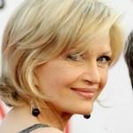 Diane Sawyer Blonde Chic Hairstyle
