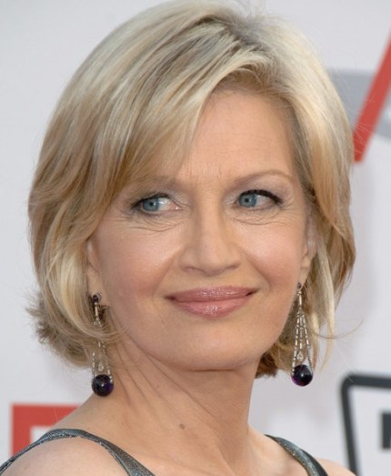 Diane Sawyer Short Hair Styles: Best Short Haircut for Women Over 60s