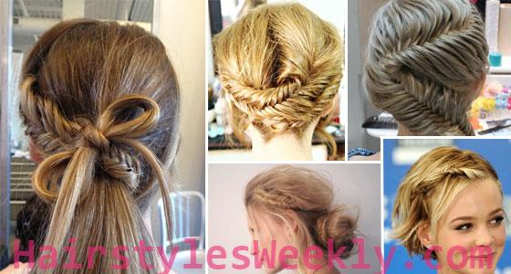 Fishtail Braid Hairstyles 2013