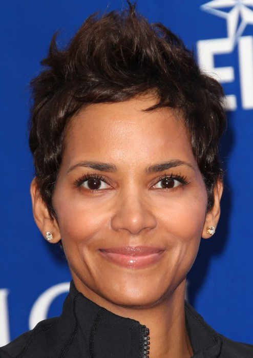 Halle Berry Short Hairstyles: Pixie Cut