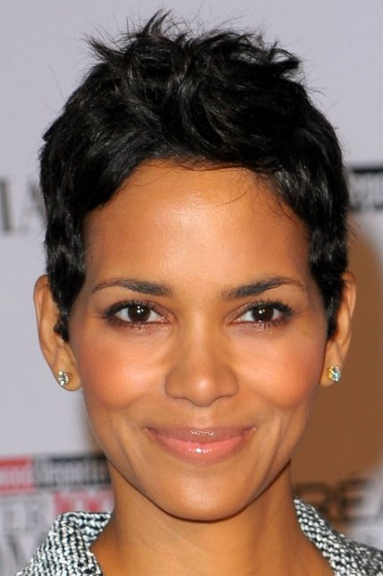Halle Berry Short Pixie Haircut for Women Over 40s