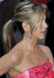jennifer aniston ponytail hairstyles