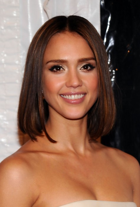Jessica Alba Long Bob Hairstyles