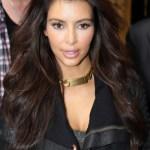 Kim Kardashian Long Wavy Hairstyles
