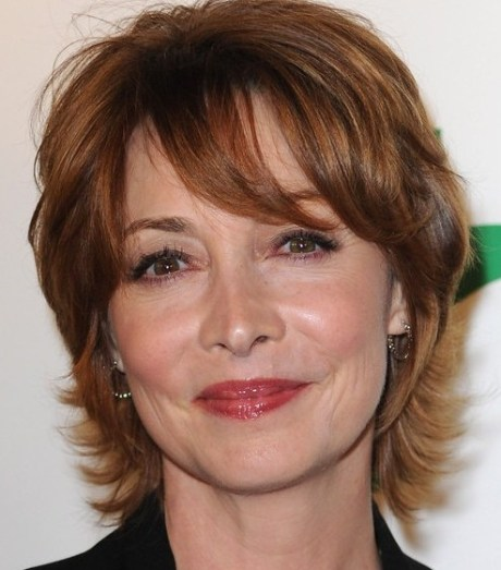 Layered Hairstyles for Women Over 40s
