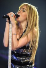 Miley Cyrus Long Straight Hairstyles sleek
