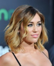 miley cyrus ombre hair layered