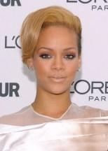 Rihanna Elegant Alternative Short Straight Hairstyle