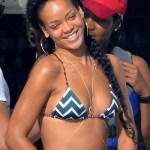 Rihanna Braided Long Pigtails: Hairstyles for Summer