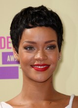 Rihanna Latest Short Pixie Haircut: Cool Boy Cut for Women