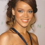 Rihanna Updos: Chic Wavy Updos for Ladies