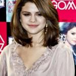Selena Gomez Layered Medium Hairstyles