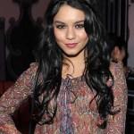 Vanessa Hudgens Long Black Hairstyles