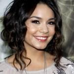 Vanessa Hudgens Loose Curly Bun Updo