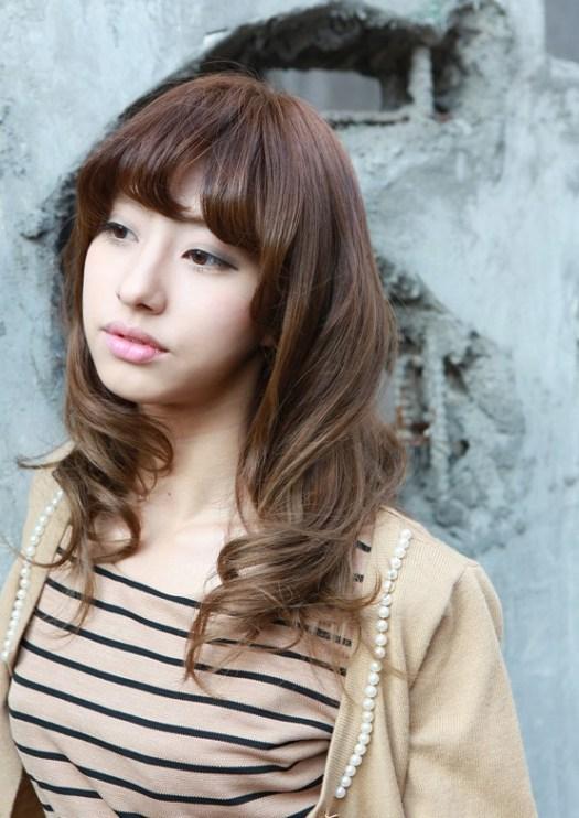 latest Asian fashion hairstyle