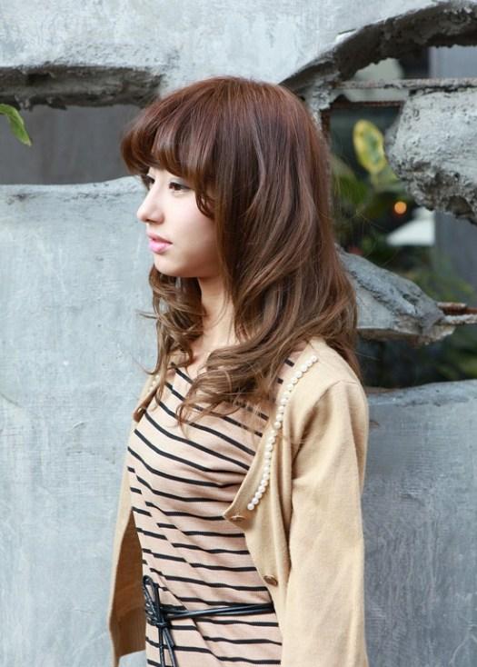 latest Asian medium length hairstyles
