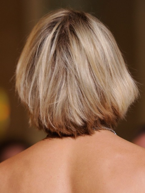 Back View of Cameron Diaz Bob Hairstyle