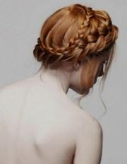 milkmaid braids cute braided hairstyles