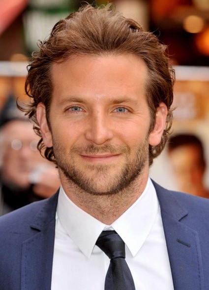 Bradley Cooper Comb Backwards Hairstyle For Men