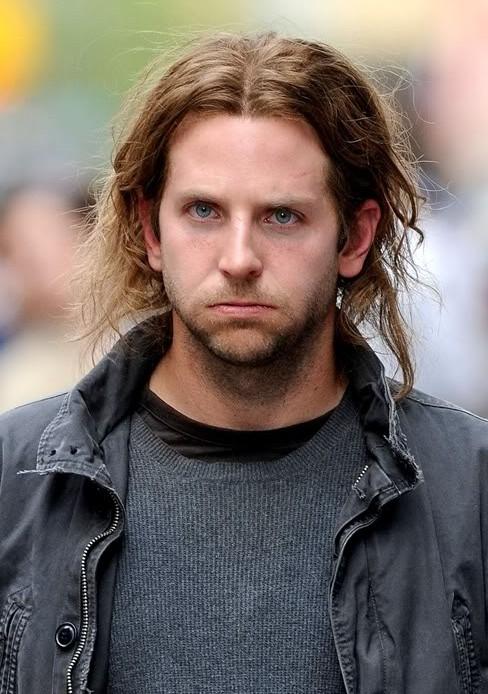 Bradley Cooper Long Hair Styles for Men